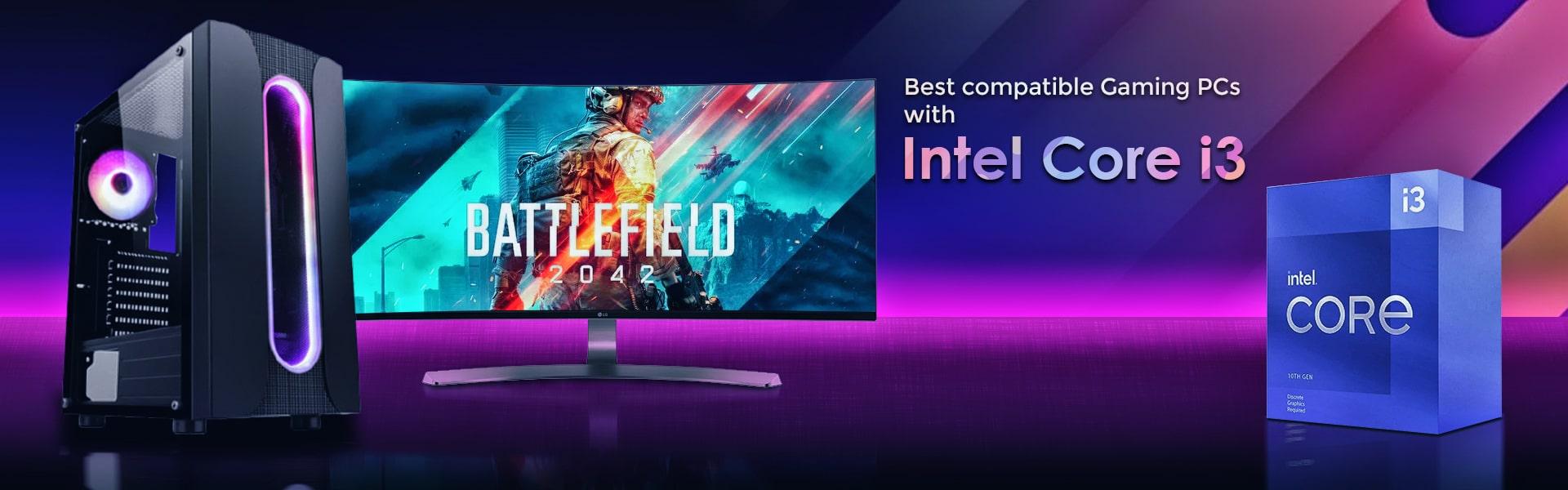 Intel i3 Gaming PCs