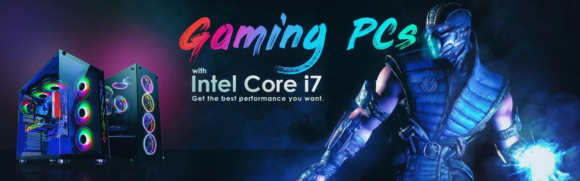 Intel i7 Gaming PCs