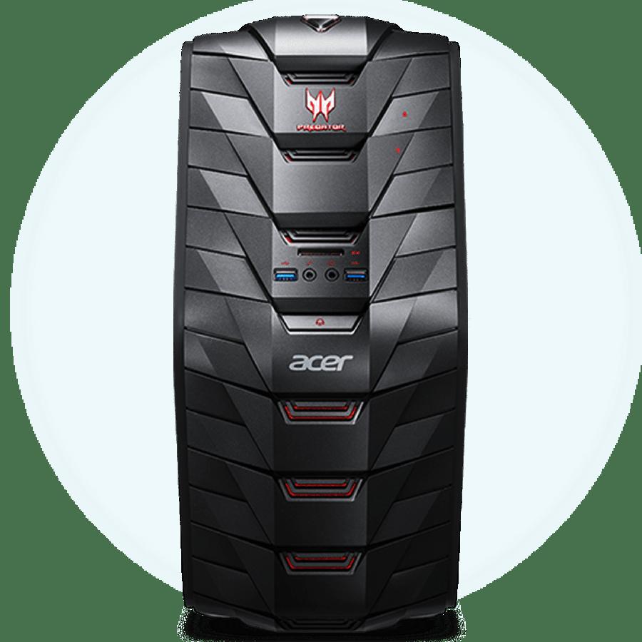 Refurb - CK Acer Predator G3-710/Intel Core i5-6400/8GB RAM/2TB HDD/GTX 970/DVD-RW/Windows 10/B