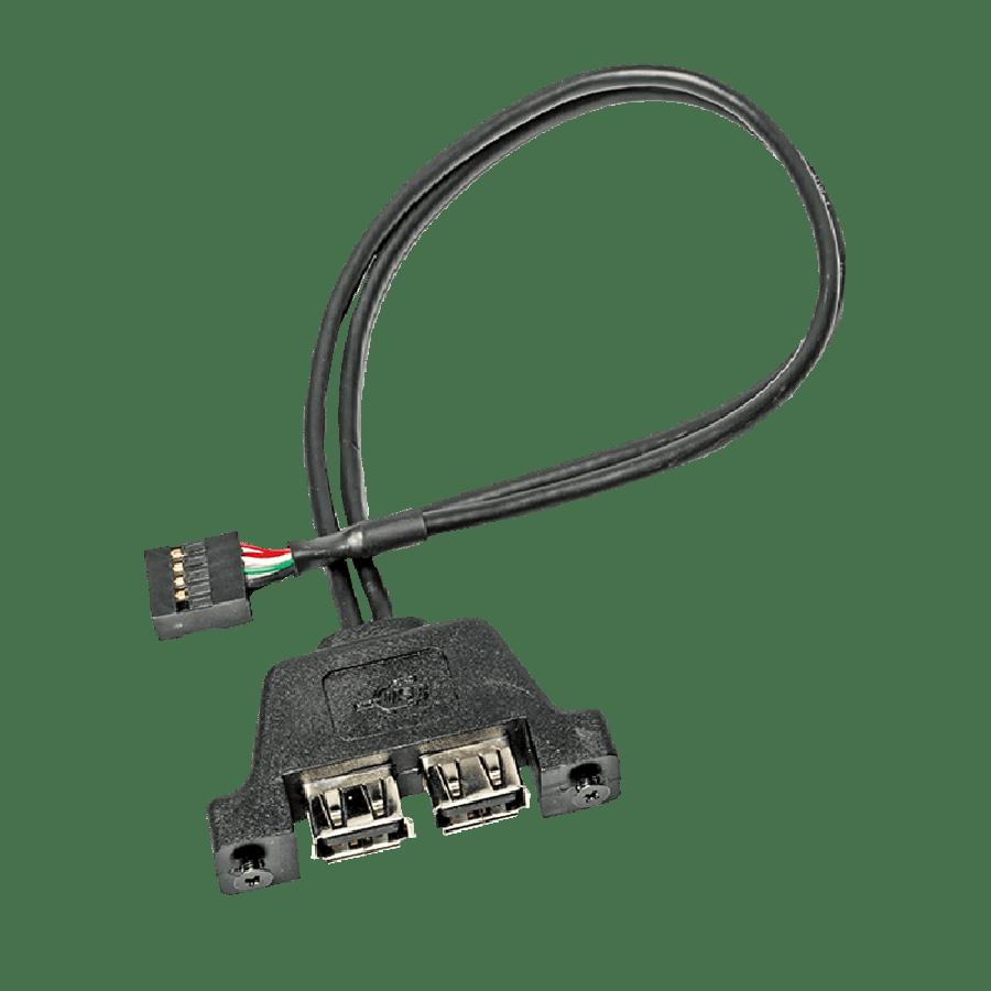 Asrock USB 2.0 Cable for the DeskMini Mini-STX Chassis, 2 X USB 2.0