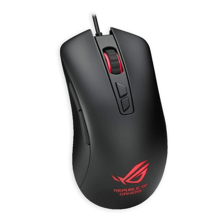 Asus ROG Harrier GT300 Optical Gaming Mouse with RGB LED - Black