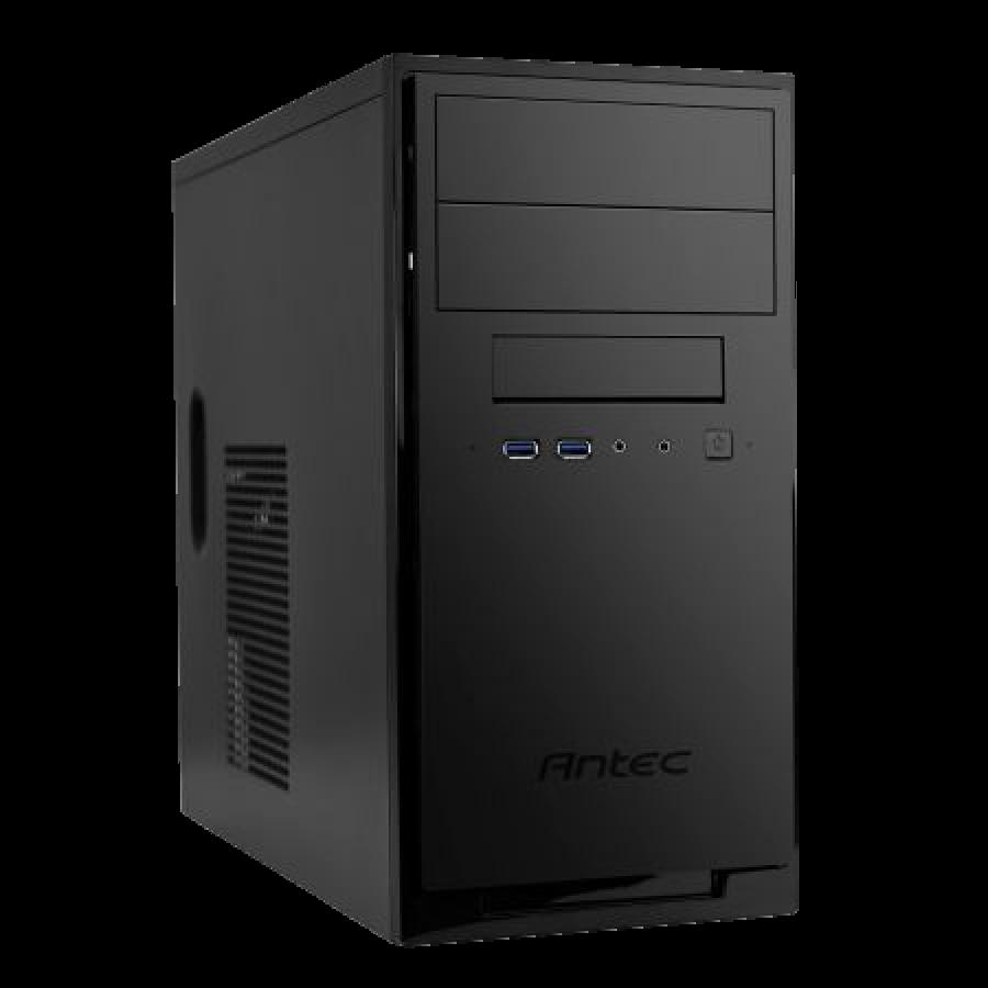 Antec NSK4100 ATX Case, No PSU, Front USB 3.0 & Audio, Matte Black