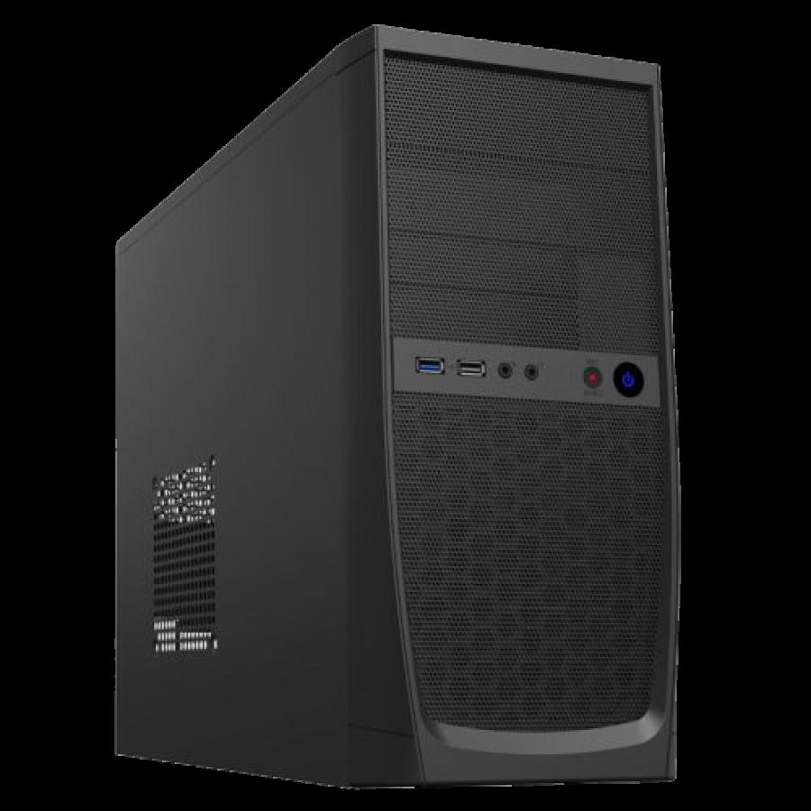 Spire Elite Micro ATX Case, 500W, Front USB 3.0, 8cm Fan, Mesh Front, Black