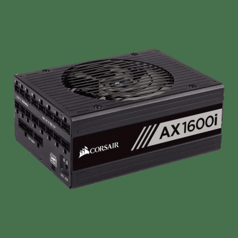 Corsair 1600W AXI Series AX1600I Digital PSU, Fluid Dynamic Fan, Fully Modular, 80+ Titanium