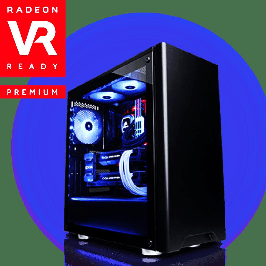 CK - AMD Ryzen 5 2500X, Radeon RX 580 Gaming PC