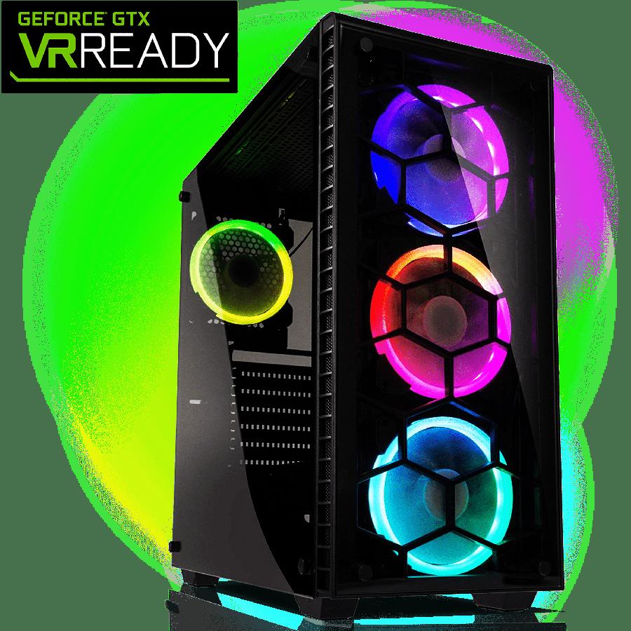 CK - AMD Ryzen 7 2700X/16GB RAM/2TB HDD/240GB SSD/GeForce RTX 2080 6GB/Gaming Pc