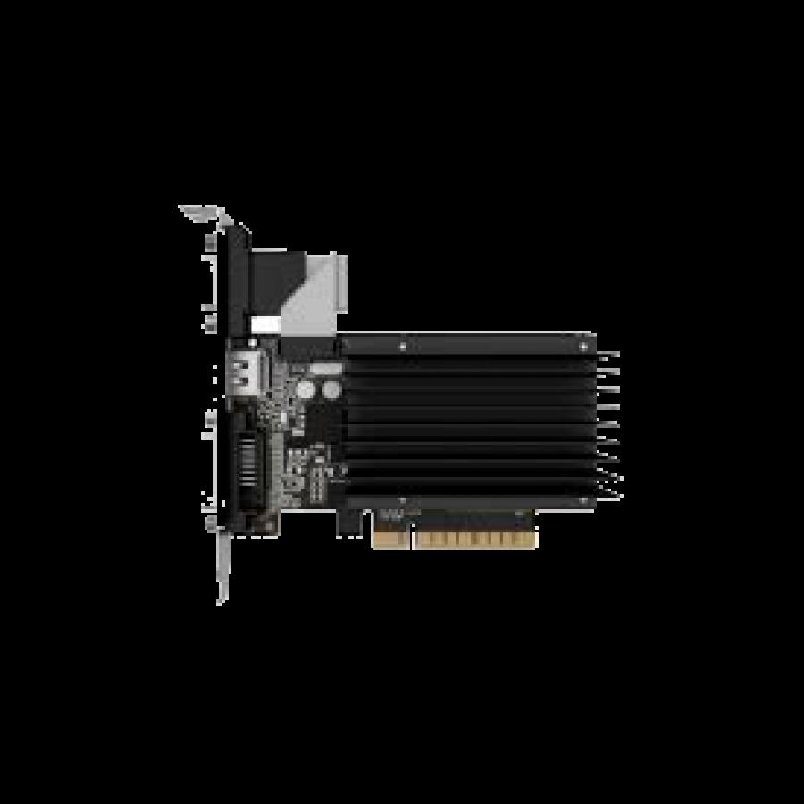Palit GT710, 1GB DDR3, PCIe2, VGA, DVI, HDMI, 954MHz, Silent