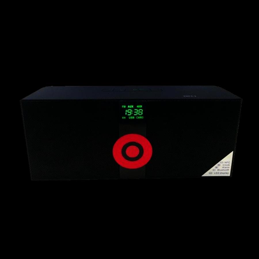 MS-288 Music Phone Stereo Wireless Speaker - Black