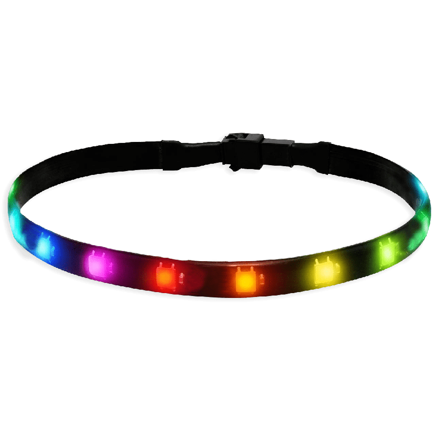 Akasa Vegas Addressable MBA RGB LED Light Strip, 60CM, 5V, Magnetic Backing, Aura Sync Compatible
