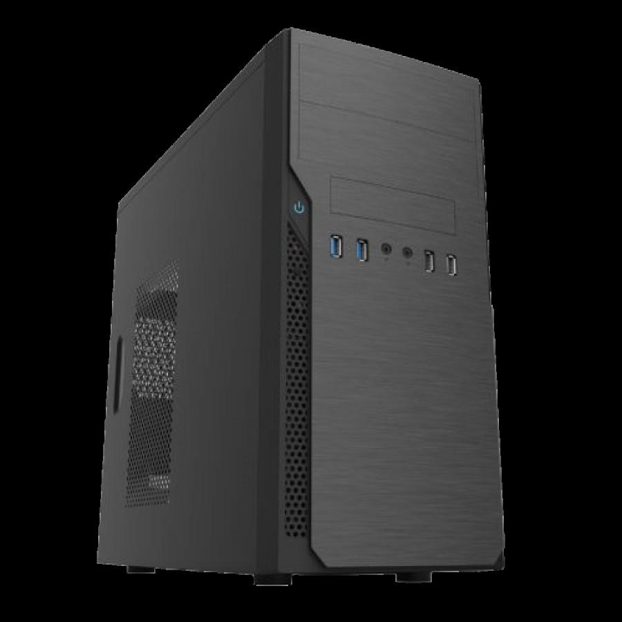 Spire Classic Micro ATX Case, 500W, 2 x Front USB 3.0, 8cm Fan, Black
