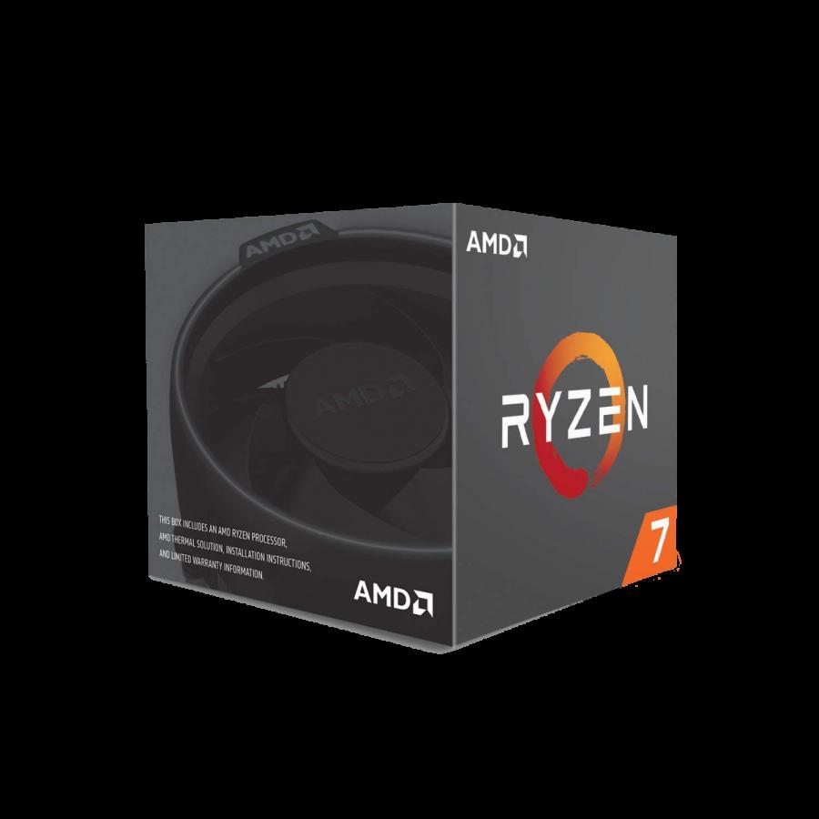 AMD Ryzen 7 1700X CPU, AM4, 3.4GHz (3.8 Turbo), 8-Core, 95W, 20MB Cache, 14nm, No Graphics,  NO HEATSINK/FAN