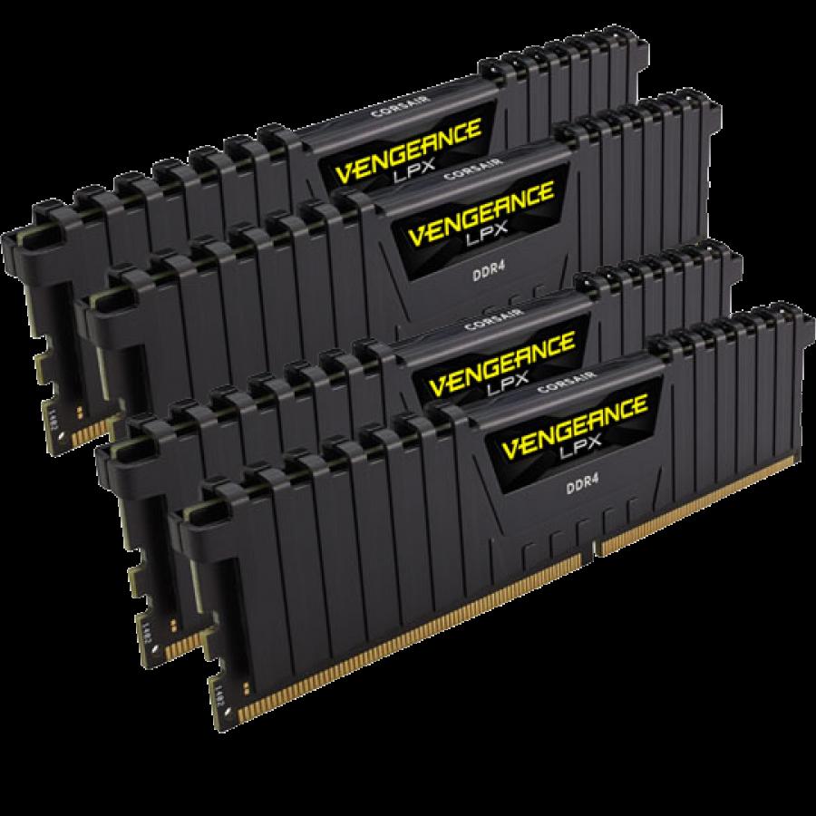 Corsair Vengeance LPX 32GB Kit (4 x 8GB) DDR4 3000MHz (PC4-24000) CL15 XMP 2.0 DIMM Memory