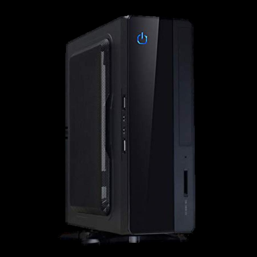 """Spire MTX-007B Mini ITX Case, 180W, 1 x 2.5"""", VESA Mountable, Black"""