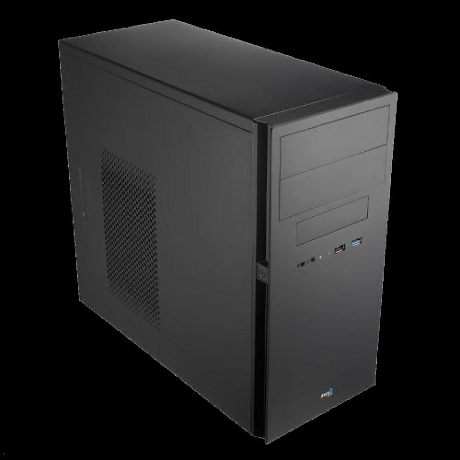 Aerocool QC-203 Micro ATX Case, No PSU, 8cm Fan, USB 3.0, Black