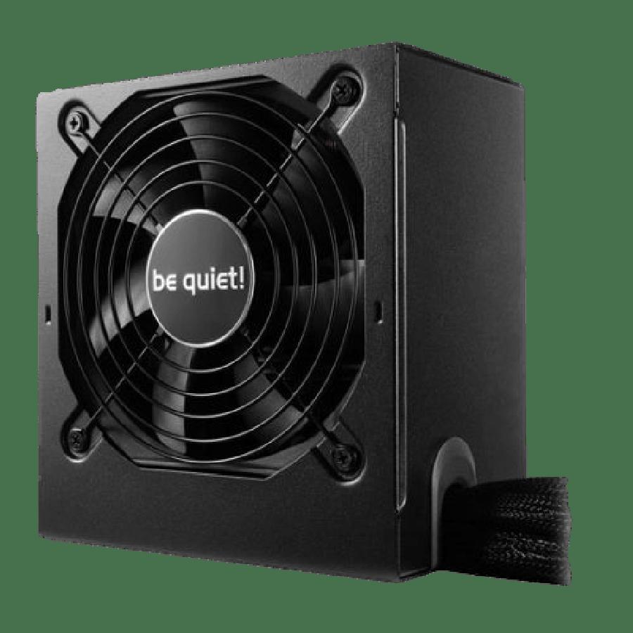 Be Quiet! 600W System Power 9 PSU, 80+ Bronze, Dual 12V, Cont. Power