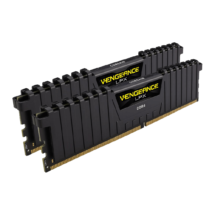 Corsair Vengeance LPX 32GB (2 x 16GB), DDR4, 2400MHz (PC4-19200), CL16, XMP 2.0, DIMM Memory