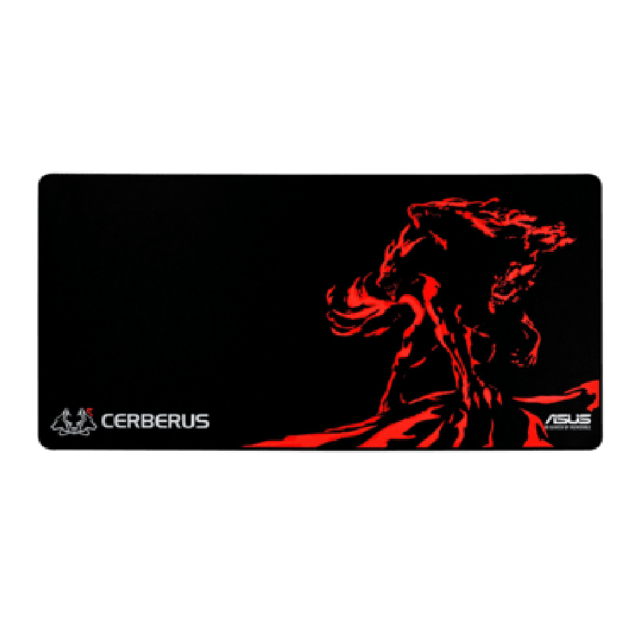 Asus Cerberus XXL Gaming Mouse Pad - Black & Red