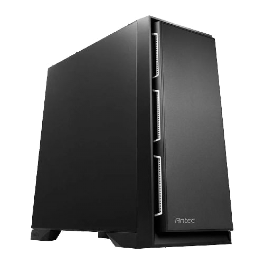 "Antec P101S Silent E-ATX Case, No PSU, Sound Dampening, Tool-less, 4 Fans, Supports up to 8 x 3.5"" Drives"