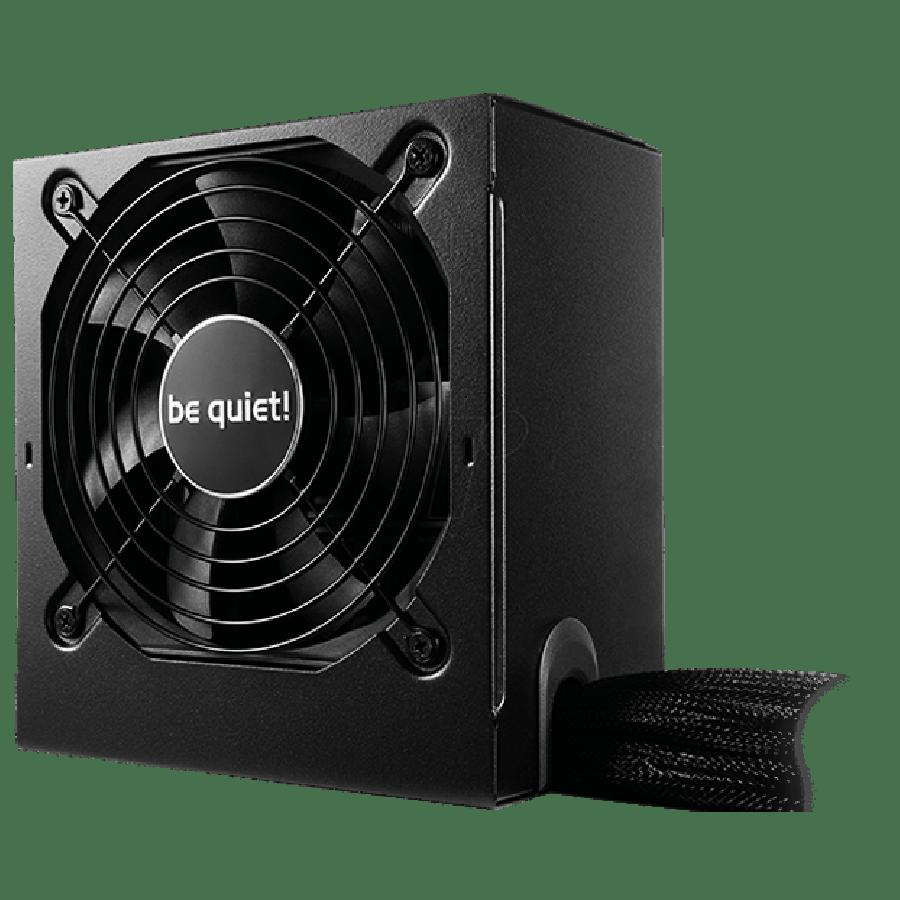 Be Quiet! 400-Watts System Power 9 PSU, Semi-Modular, 80+ Bronze, Dual 12V, Cont. Power - Black