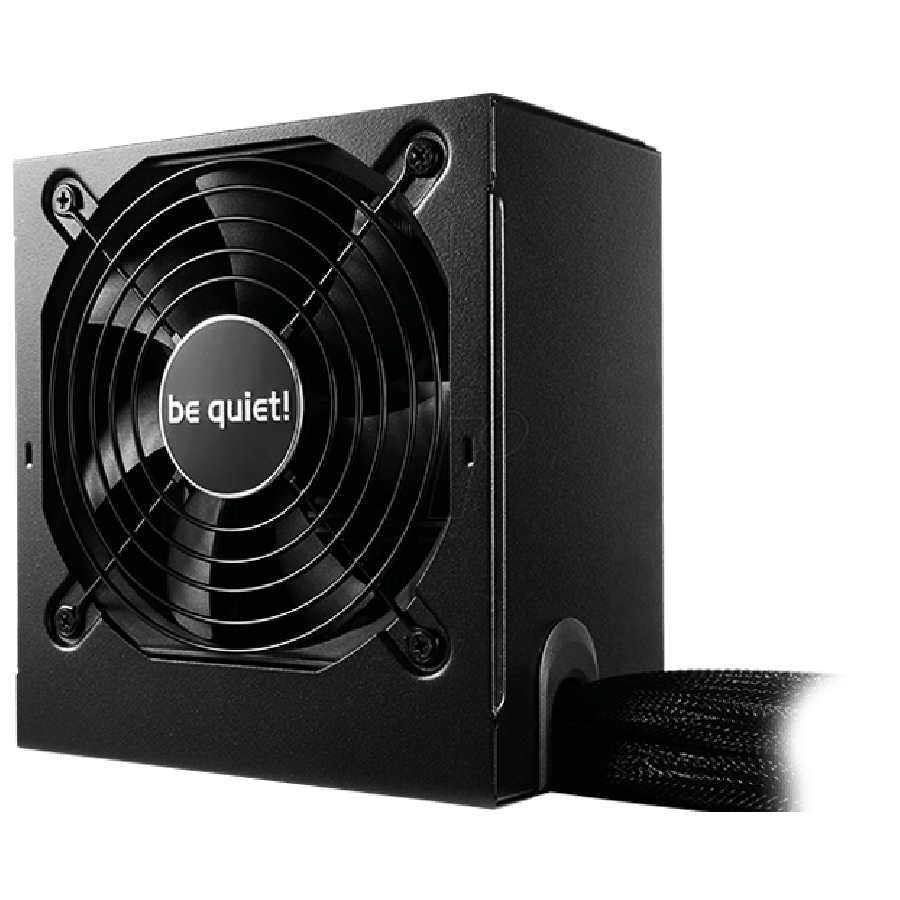 Be Quiet! 500-Watts System Power 9 PSU, Semi-Modular,  80+ Bronze, Dual 12V, Cont. Power - Black