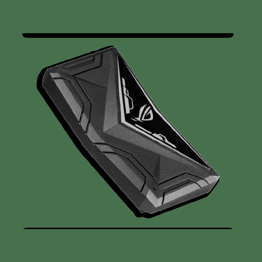 Asus ROG 4-Slot SLI HB Bridge with RGB Lighting, for Nvidia GTX 1080Ti, 1080, 1070 and Titan X Graphics Cards, 2-Way - Black