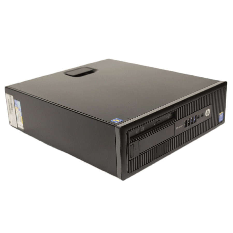 Refurbished HP ProDesk 600 G1 SFF Intel Core i5-4570 3.20GHz, 4GB RAM, 500GB HDD, B