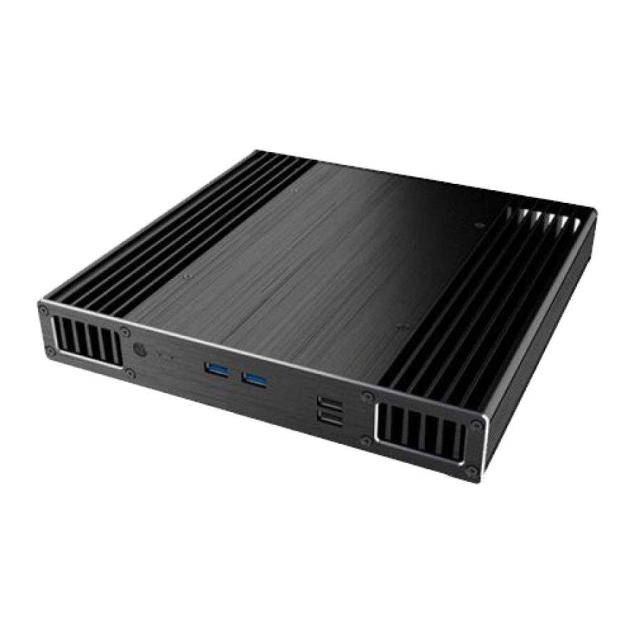Akasa Plato X7D Low Profile NUC Case for 7th Gen Intel NUC Boards, 39mm High, Fanless,  VESA Mountable