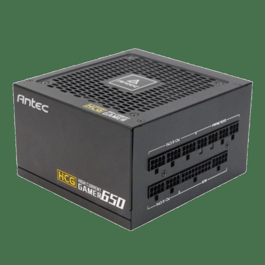 Antec 650W High Current Gamer Gold PSU, Fully Modular, Fluid Dynamic Fan, 80+ Gold
