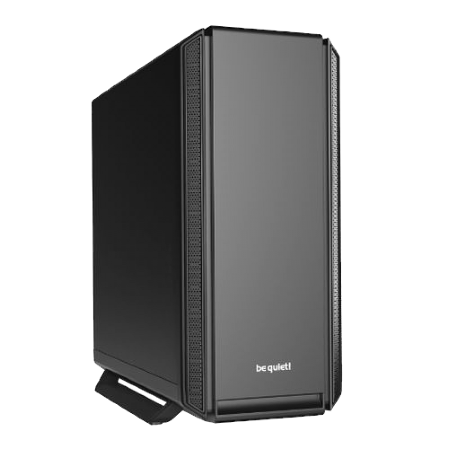 Be Quiet! Silent Base 801 Gaming Case, E-ATX, No PSU, 3 x Pure Wings 2 Fans, PSU Shroud, Black