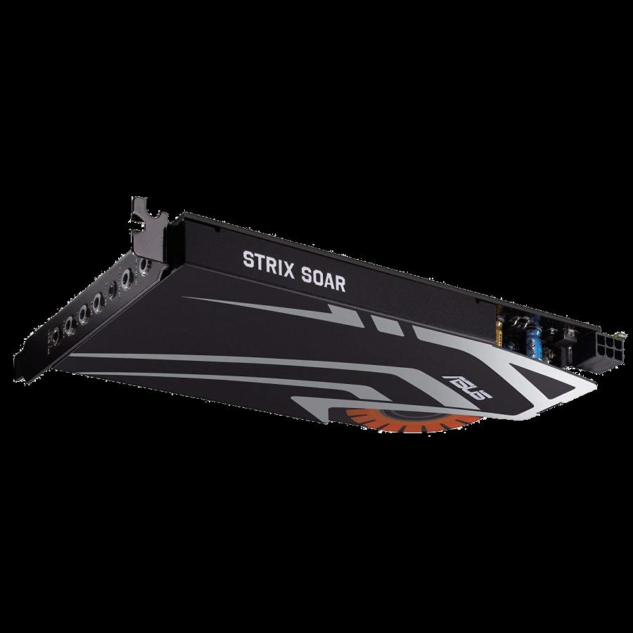 Asus STRIX SOAR Gaming Soundcard, PCIe, 7.1, Audiophile-Grade DAC, 116dB SNR.