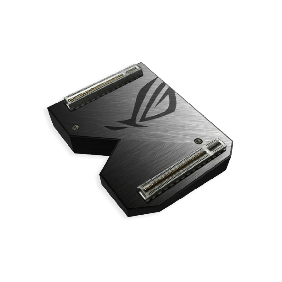 Asus ROG-NVLINK 3-Slot Bridge with RGB Lighting, for RTX NVLink SLI-ready Graphics Cards