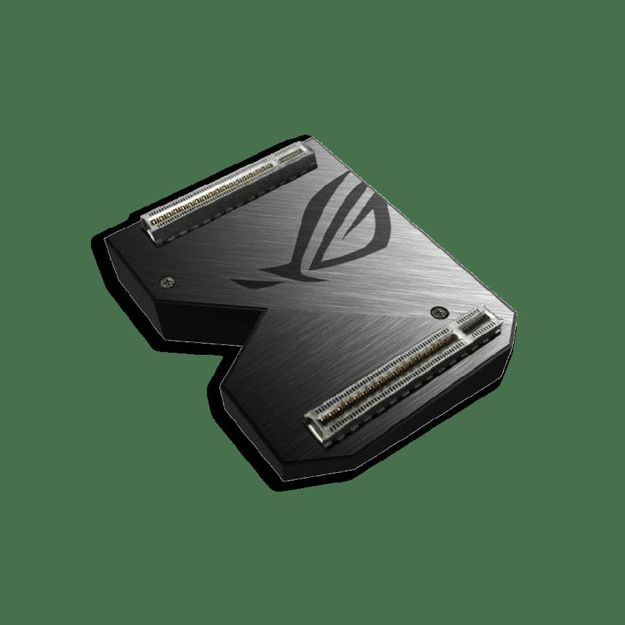 Asus ROG-NVLINK 4-Slot Bridge with RGB Lighting, for RTX NVLink SLI-ready Graphics Cards
