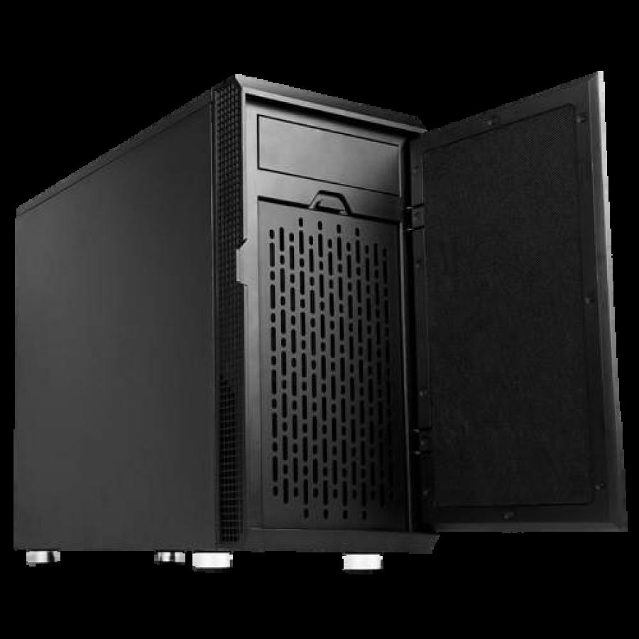 Antec P5 Ultimate Silent Case, Micro ATX, No PSU, Sound-Absorbing Foam, Black