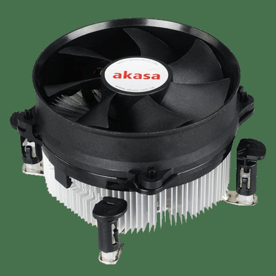 Akasa AK-959CU, 775, 1150, 1151, 1155, 1156, Sockets PWM Heatsink and Fan - Black