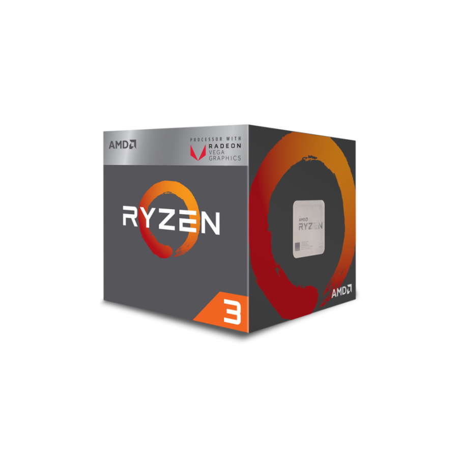 AMD Ryzen 3 1300X CPU with Wraith Cooler, AM4, 3.5GHz (3.7 Turbo), Quad Core, 65W, 10MB Cache, 14nm, No Graphics