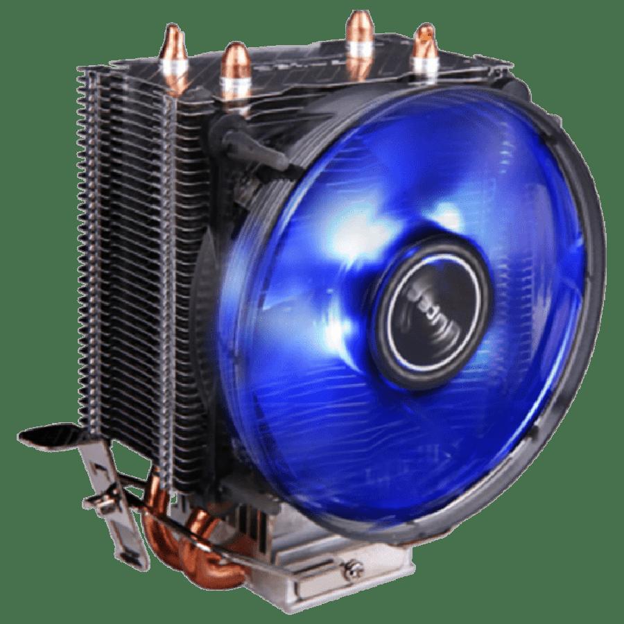 Antec A30, Intel & AMD Sockets, Whisper-Quiet 9.2CM, Rifle Bearing Heatsink & Fan -  Black with a Blue LED