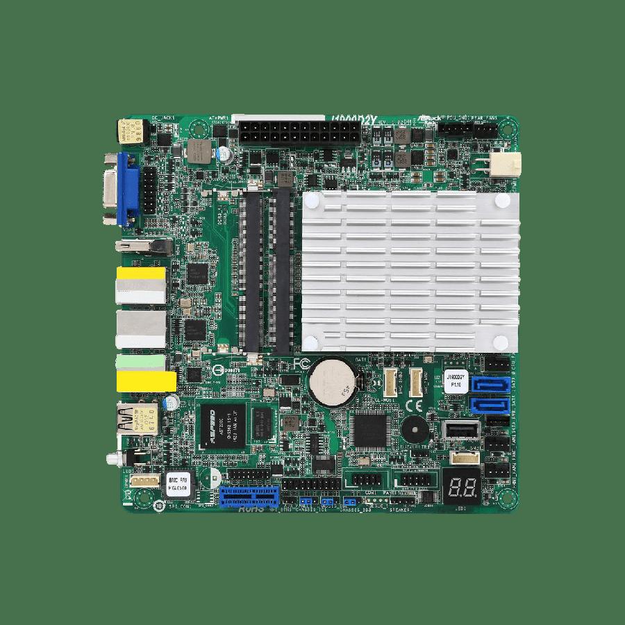 Asrock Rack J1900D2Y Server Board, Integrated CPU, Mini ITX, Dual GB LAN, USB3, IPMI LAN