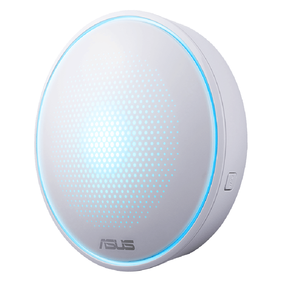 Asus LYRA Mini (MAP-AC1300) Whole-Home Mesh Wi-Fi System, Single, Dual Band AC1300, Parental Controls, App Management  White