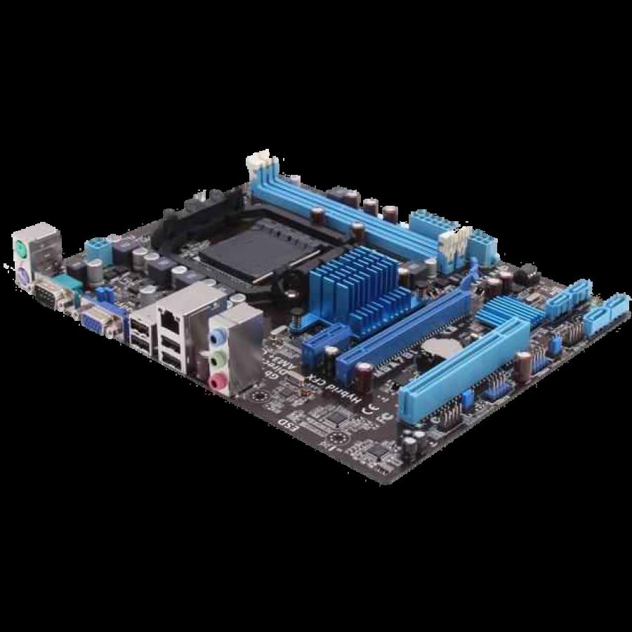 Asus M5A78L-M LX3, AMD 760G, AM3+, Micro ATX, 2 DDR3, RAID, USB2, 95W CPU Support