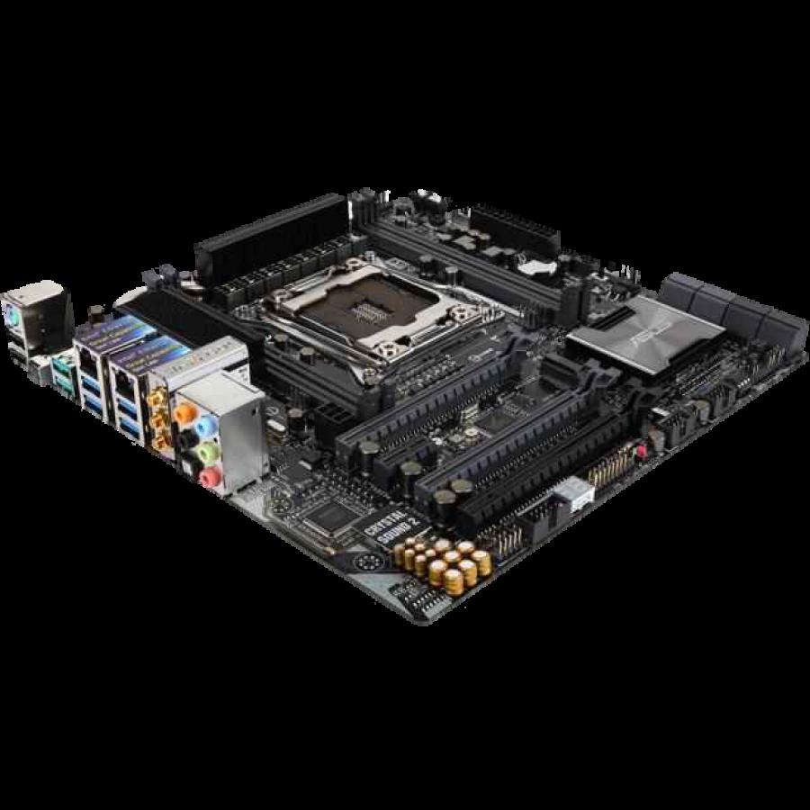 Asus X99-M WS/SE, Workstation, Intel X99, 2011-3, Micro ATX, DDR4, Dual GB LAN, XFire/SLI, RAID