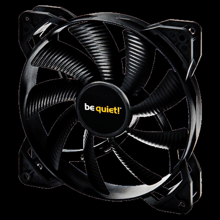 Be Quiet! BL026 Shadow Wings 12CM PWM Case Fan, Rifle Bearing, Screwless, Ultra Quiet - Black