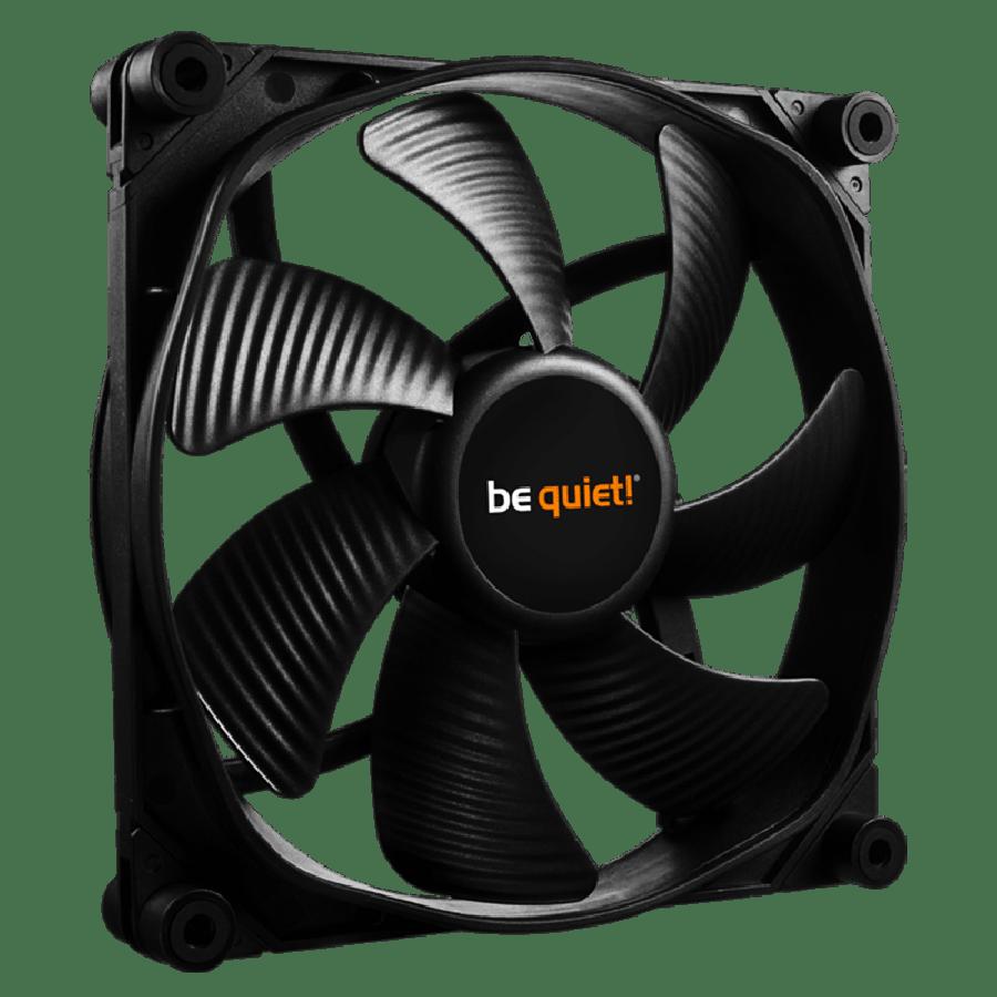 Be Quiet! (BL064) Silent Wings 3 12CM Case Fan, Fluid Dynamic Bearing - Black
