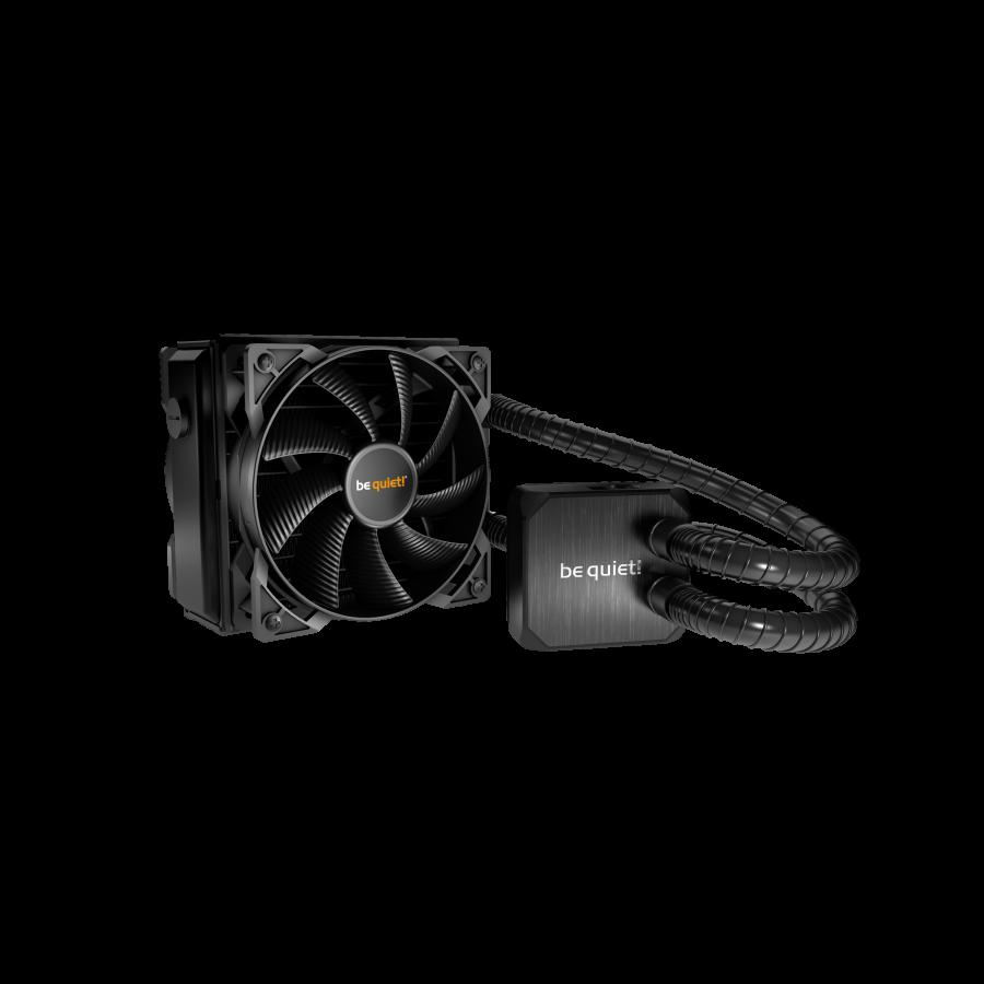 Be Quiet! Silent Loop 120mm Liquid CPU Cooler, Full Copper, 2 x 12cm Pure Wings 2 PWM Fans