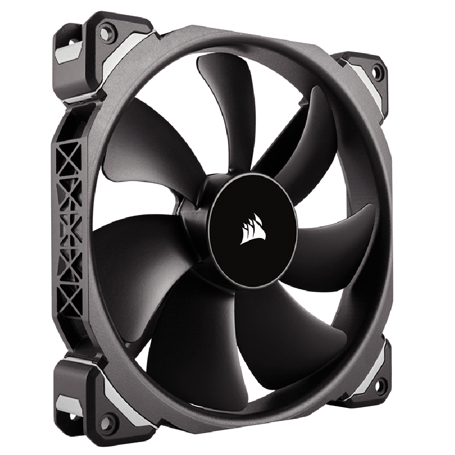 Corsair ML120 12CM Pro PWM Case Fan, Magnetic Levitation Bearing, Low Noise - Black