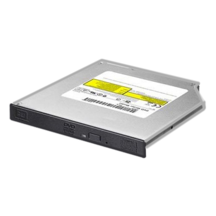 LiteOn Slimline DVD Re-Writer, SATA, 8x, Black, 12.7mm High, No Software, OEM