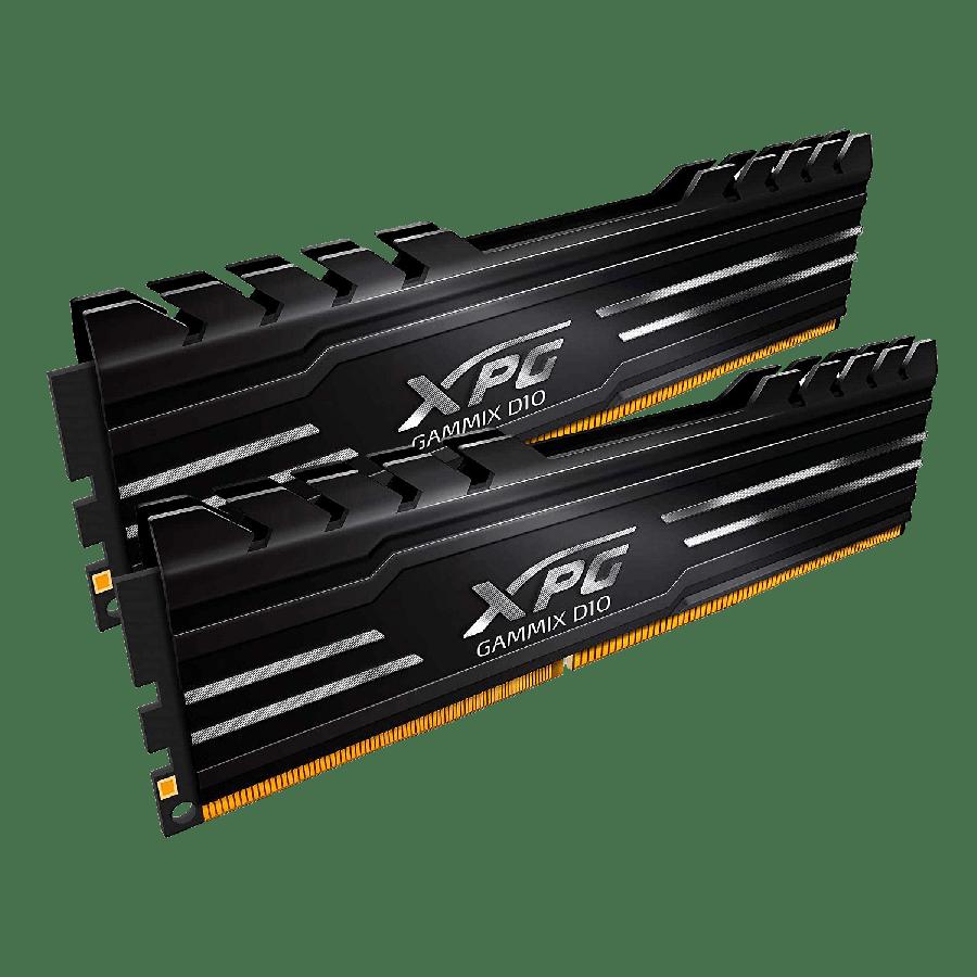 ADATA GAMMIX D10 16GB Kit (2 x 8GB) DDR4 2666MHz (PC4-21300) CL16 XMP 2.0 DIMM Memory LP