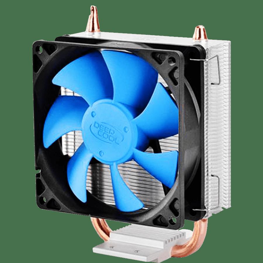 Deepcool Ice Blade 100 Heatsink & Fan, Intel & AMD Sockets, Fluid Dynamic, Fans, Core Touch Tech - Blue