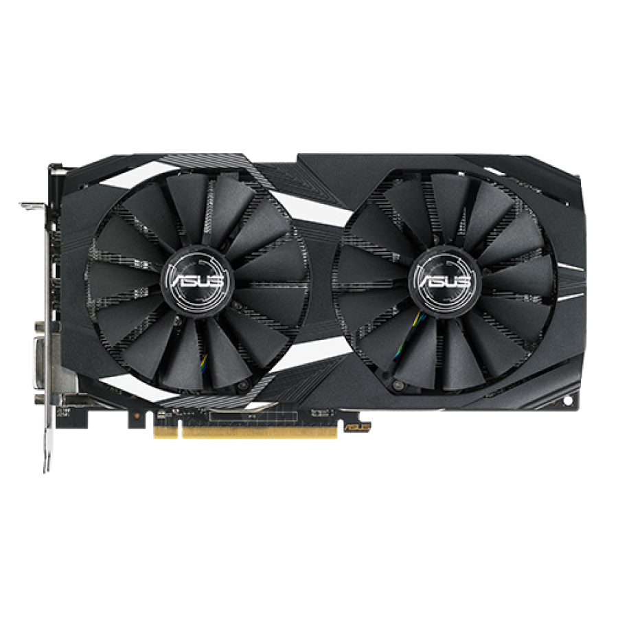 Asus Radeon RX580 DUAL OC, 8GB DDR5, DVI, 2 HDMI, 2 DP, 0dB Tech