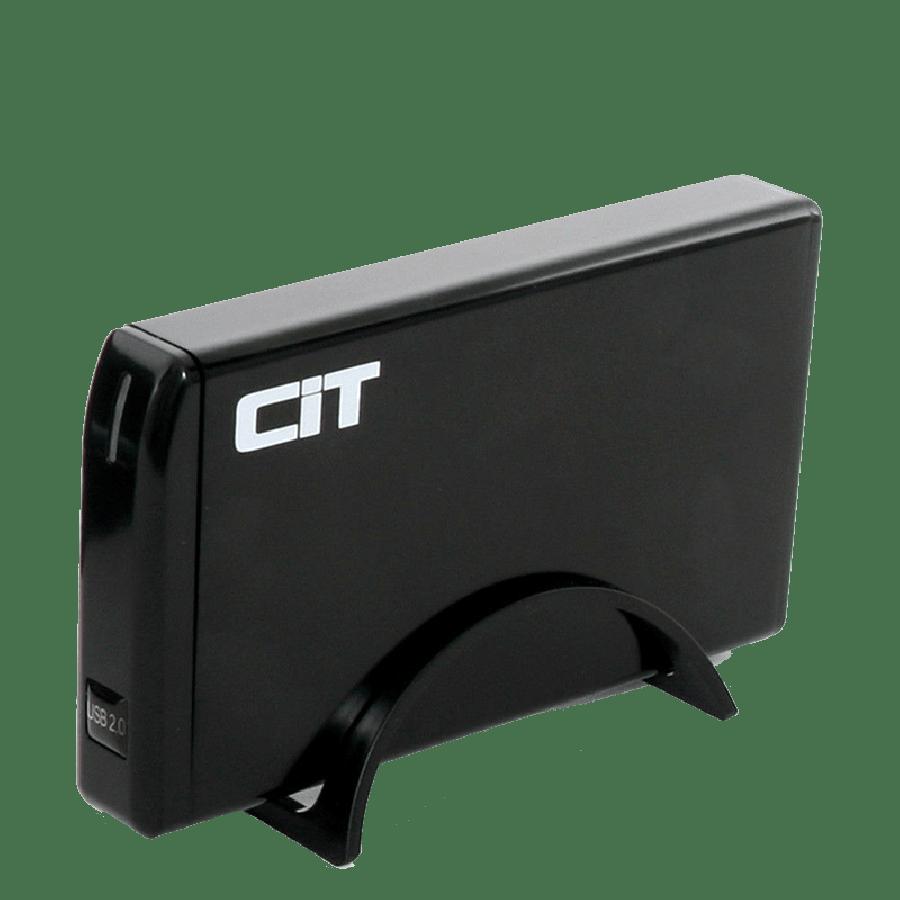 """CiT 3.5"""" USB 2.0 SATA + IDE HDD Enclosure"""