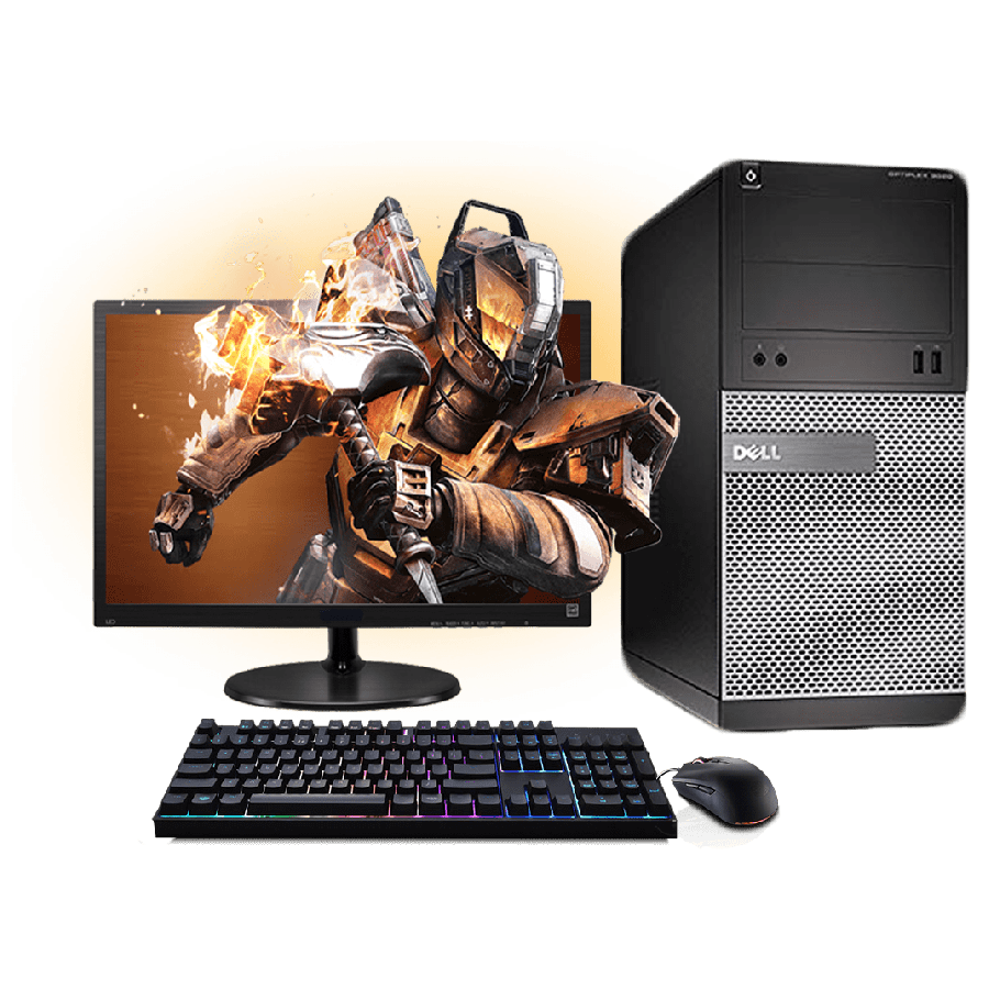 Refurb - Dell Intel Core i5 Gaming Computer Full Set
